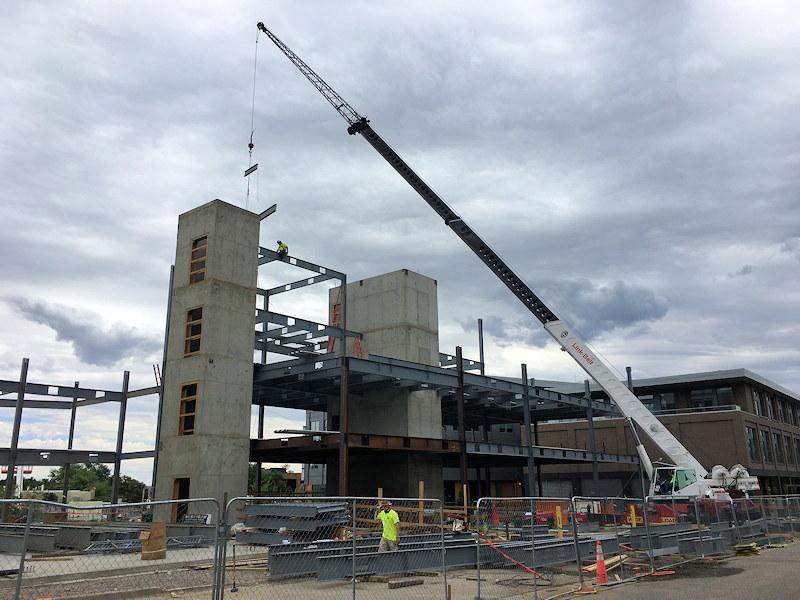 Steel Erection Cranes & Equipment in NoCo