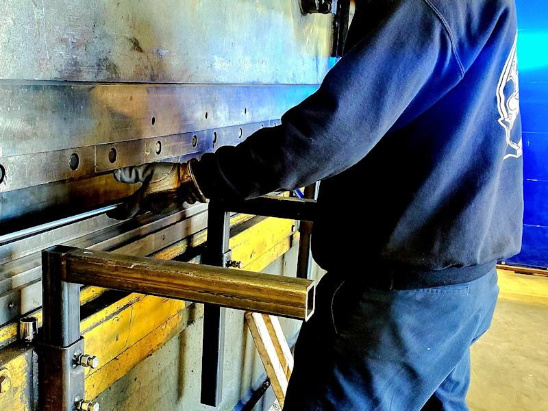 Steel Fabrication Facility & Equipment in Colorado