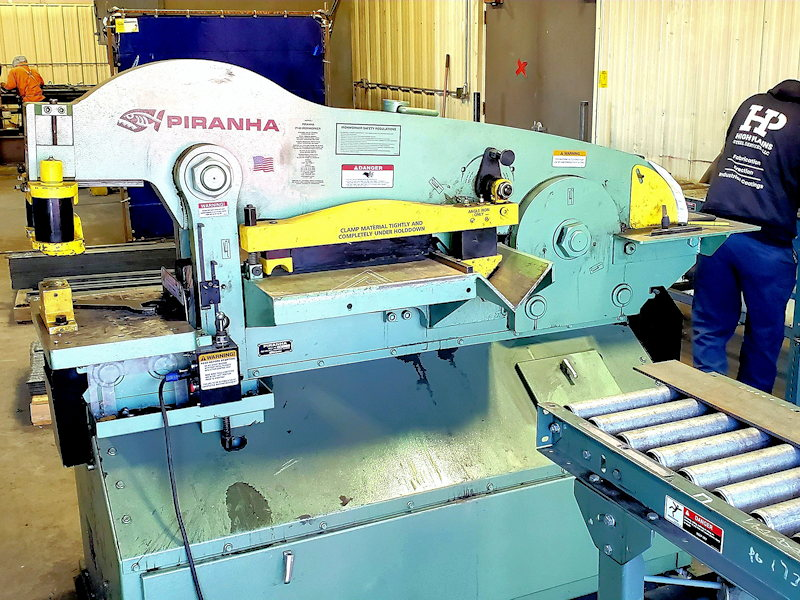 Steel Fabrication Facility & Equipment in Northern Colorado