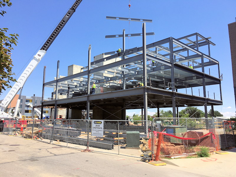 Structural Steel Erection in Northern Colorado