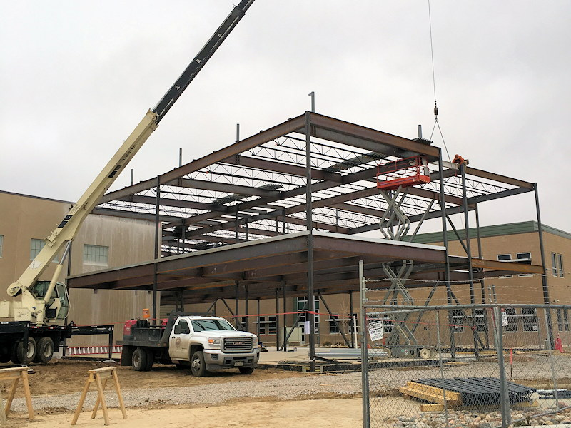Structural Steel Erection Services in Northern Colorado